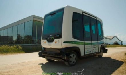 Autobuses sin conductor en Holanda