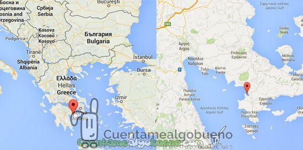Descubren bajo el mar una ciudad griega de la Edad de Bronce