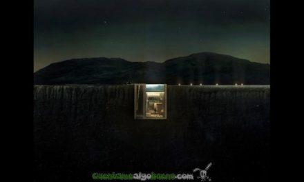 Construyen una casa en un acantilado con impresionantes vistas