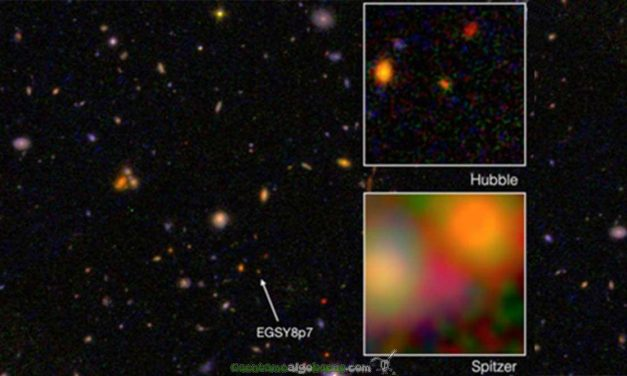 Nueva galaxia a la vista, la más antigua y lejana
