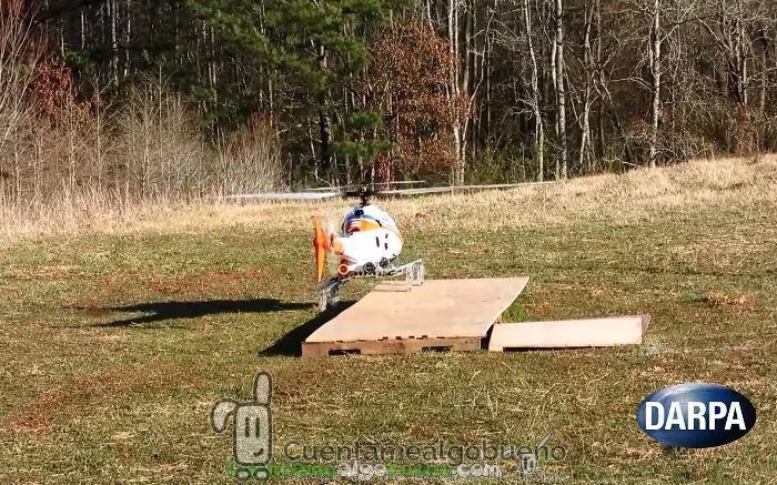 Crean un tren de aterrizaje robótico que permitirá a los helicópteros adaptarse a cualquier terreno