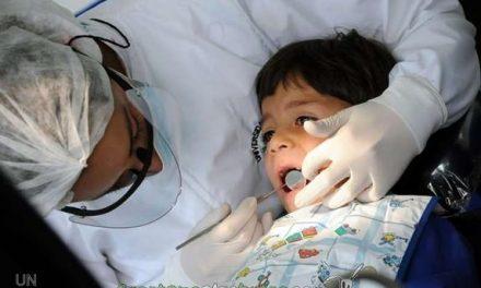 Los más pequeños presumen de buena dentadura