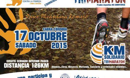 Nueva edición de Kilómetro Solidario