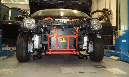 El motor eléctrico en rueda