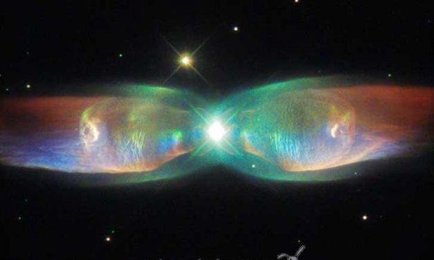 Una espectacular fotografía espacial