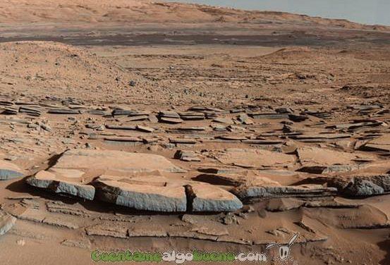 Nuevas evidencias de agua marciana