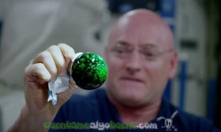 Ciencia y arte; bonitos y curiosos experimentos espaciales