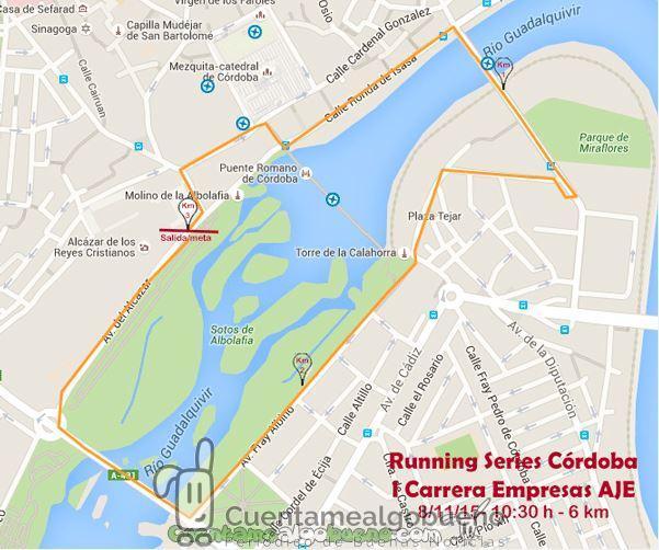 I Carrera de Empresas AJE Córdoba