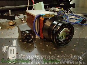 Desarrollan cámara infrarroja para detectar rayos cósmicos de ultra-alta energía