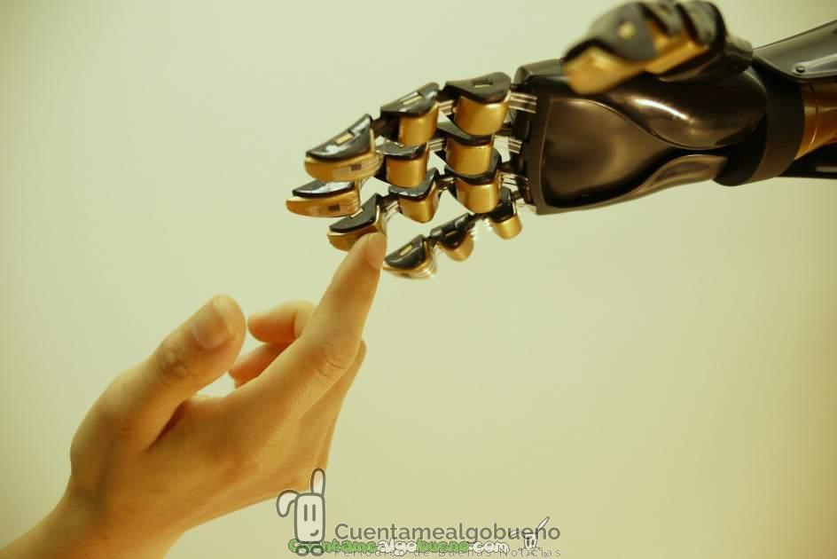 Prótesis humanas con mucho tacto