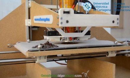 ¡Una impresora 3D de chocolate!