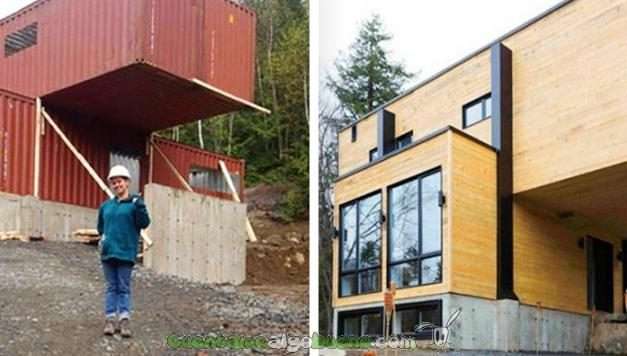 Reciclaje 2.0: construye una casa a partir de un contenedor