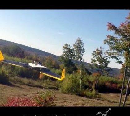 El vuelo de un dron autónomo