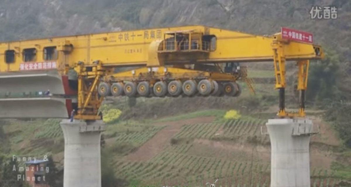 Una gigante herramienta para construir puentes