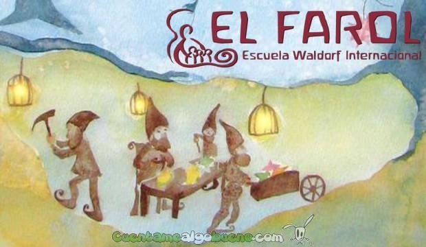 Mercado Navideño de la Escuela Internacional Walforf El Farol de Málaga.