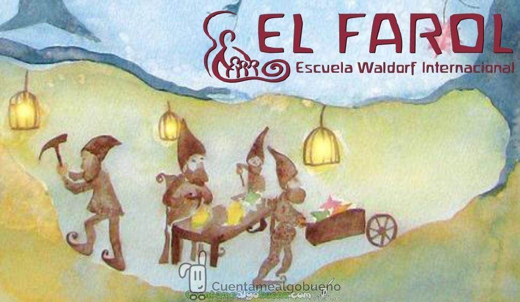 Mercadillo de Navidad en la Escuela Waldorf El Farol de Málaga