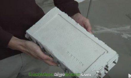 Un dispositivo con forma de ladrillo frente a los seísmos