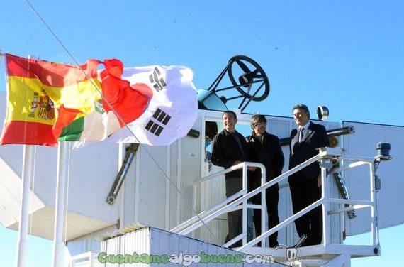 Nueva estación astronómica, con sello español
