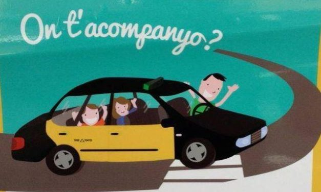 Taxistas de Barcelona acompañan voluntariamente a niños necesitados al hospital