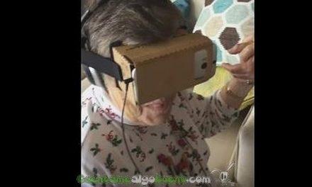 Realidad virtual por primera vez