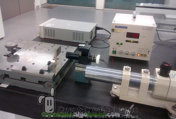 Dispositivo para medir espejos solares