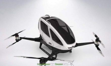 Nuevo dron que transporta pasajeros