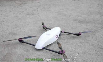 Un dron que vuela seis veces más tiempo