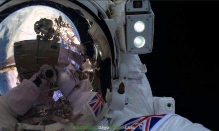 Un 'selfie' desde el espacio