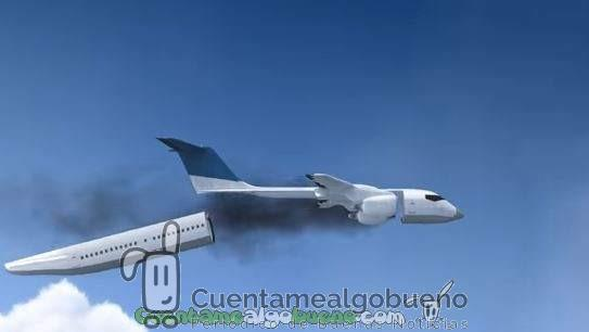 Cabina de avión que se desprende y aterriza en caso de accidente