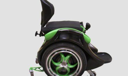 Inventan una silla de ruedas manos libres tipo Segway