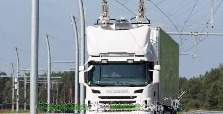 La primera autopista eléctrica para camiones