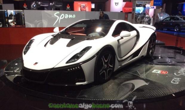 Un vehículo deportivo con una batería de grafeno de Grabat Energy.