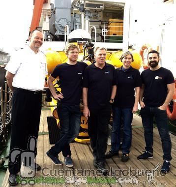 En submarino hacia el volcán de El Hierro