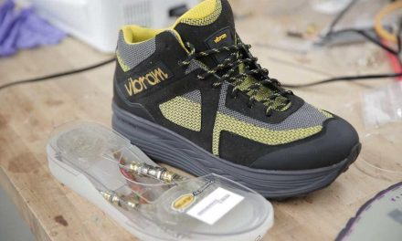 Zapatillas generadoras de energía