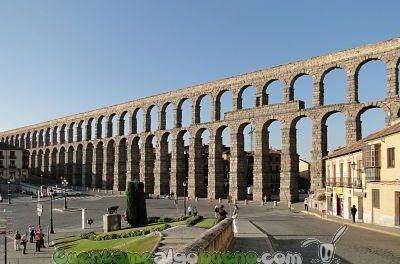 El acueducto de Segovia, obra maestra de la ingeniería