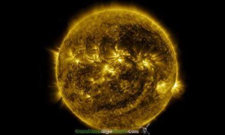 La actividad solar de un año en seis minutos