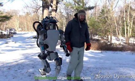 Crean un robot que camina y se levanta como una persona