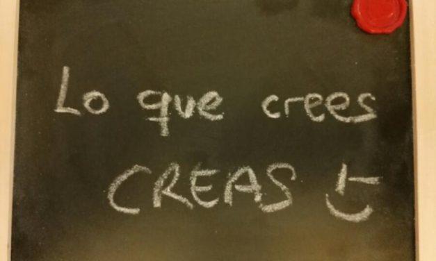 Lo que crees CREAS