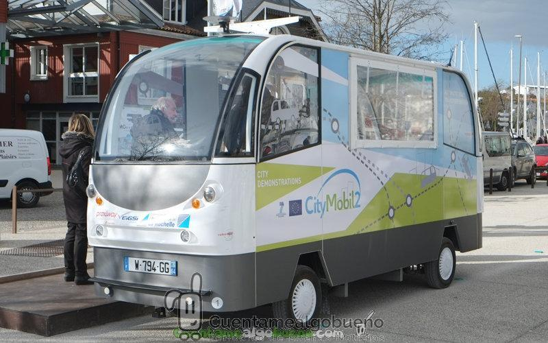 Autobuses eléctricos automatizados