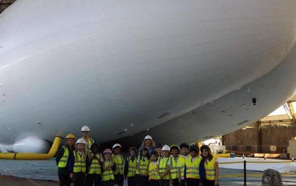 La aeronave más grande del mundo surcará los cielos desde Londres