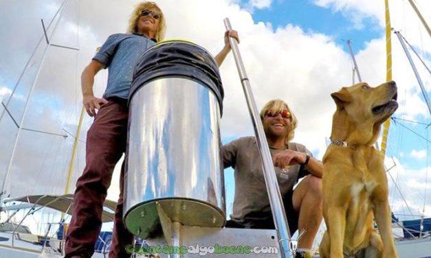 Innovador dispositivo que limpia los océanos