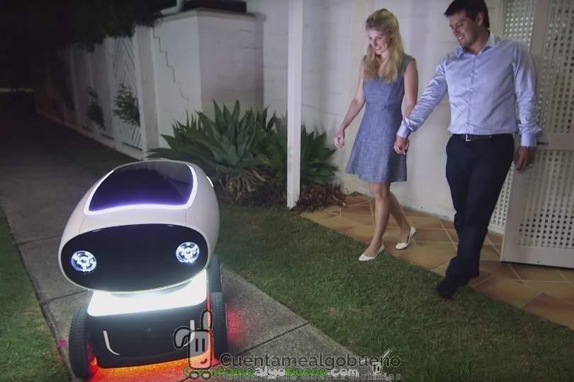 Robots repartidores de pizzas