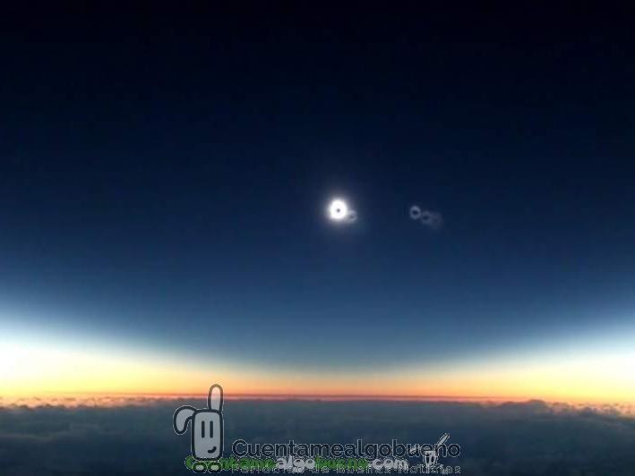 Eclipse de sol en las alturas