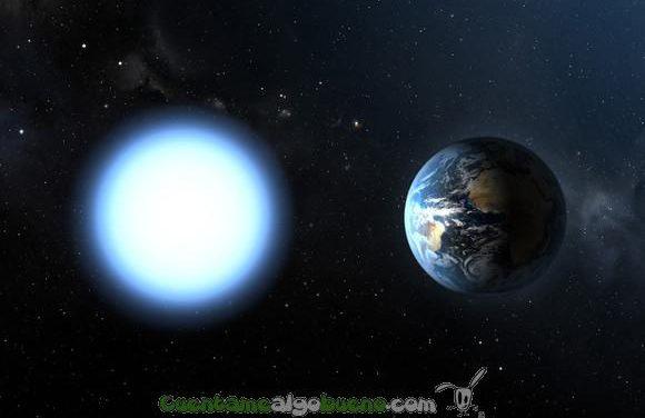Primera enana blanca con atmósfera de oxígeno