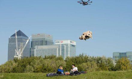Reparto a domicilio con drones