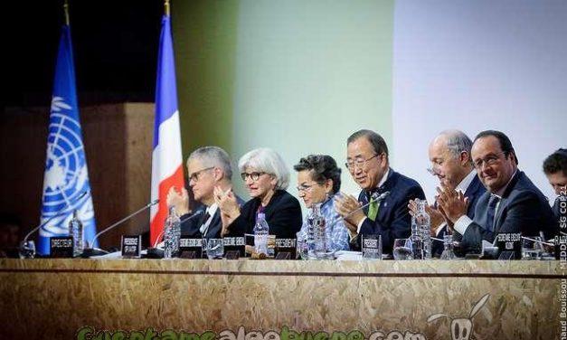 Firmado el Acuerdo de París