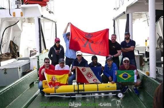 Un robot submarino cruza por primera vez el Atlántico Sur