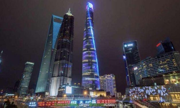 La Torre de Shanghái en timelapse