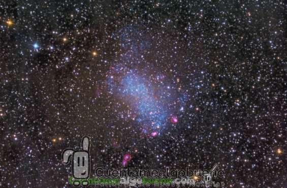 Nueva galaxia orbitando la Vía Láctea