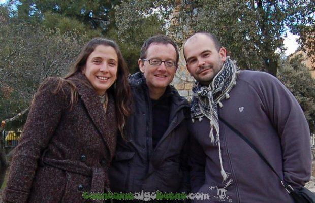 Adriana, Graham y Daniel de Noticias Positivas.